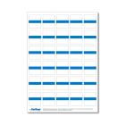 Beschriftungsetikett IB, blau 1 Bog.