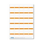 Beschriftungsetikett IB, orange 1 Bog.