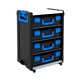 WorkMo 24-750 mit 4 Boxenböden und 4 L-BOXXen 136 leer
