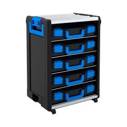 WorkMo 24-750 inkl. 5 Boxxenböden und 5 L-BOXXen 102