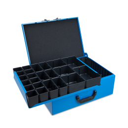 Metallkoffer DM 352 inkl. TBL+IB-Set H63