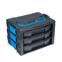 i-BOXX Rack G 3-fach inkl. LS-Schubladen