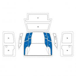 VW Caddy 04,Seitenv.o.Schiebet.(1-8)