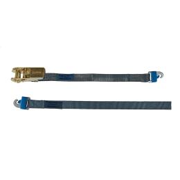 Zurrgurte mit Ratsche ZGRP 3000mm und 2 eingenähten ProSafe Haken  Länge: 350mm + 2650mm = 3000mm