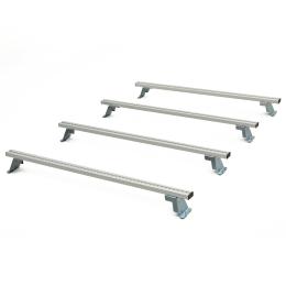 Lastenträger-Set Basis MAN TGE Mod.17  Radstand 3640 mm ND  NUR in Verbindung mit C-Schiene montierbar bestehend aus Lastenquerträger mit Zurrsystem Positionen 1, 2, 3, 5 von vorne