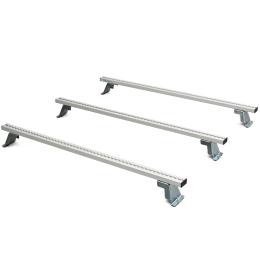 Lastenträger-Set Basis MAN TGE Mod.17 Radstand 3640 mm ND, bestehend aus Lastenquerträger mit Zurrsystem Positionen 1, 3, 5 von vorne.