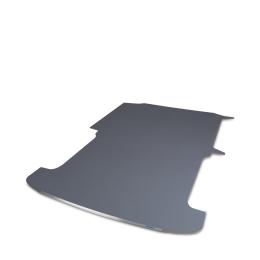 Bodenplatte Sobogrip VW CADDY Mod.04 / Mod.11  B/D mit Trennwand/Trennwand mit Durchgang Radstand 2682 mm / 2681 mm, 2 Schiebetüren, Ausschnitt links