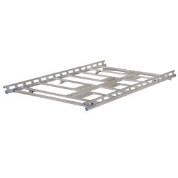 ProTop VW T6, 3000mm, Normaldach ND, Heckflügeltüren pour véhicule sans rail de montage profil C